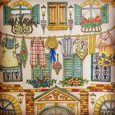 穏やかな日々が訪れますように☺️ #coloringforadults #coloringbook #boracolorirtop #color #art #colouringbook #coloriage #colorido #romanticcountry #cocot #eriy #コロリアージュ #大人の塗り絵 #塗り絵 #ロマンティックカントリー #クーピーペンシル