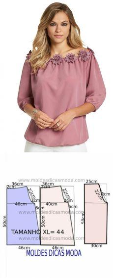 Dress Sewing Patterns, Blouse Patterns, Clothing Patterns, Blouse Designs, Sewing Blouses, Sewing Collars, Diy Dress, Fashion Sewing, Apparel Design