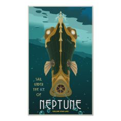 Steampunk Neptune