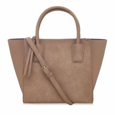 Brown - Demi Vegan Tote Bag, cruelty free tote bag