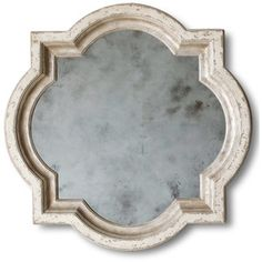 Eloquence® Lyon Mirror in Stone and Silver