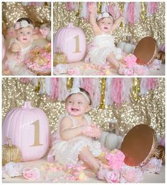 Charley celebrates her first birthday and smash cake session with Dolci Momenti Photography – Scranton, Pennsylvania's premiere newborn and children's photographer | Dolci Momenti Photography
