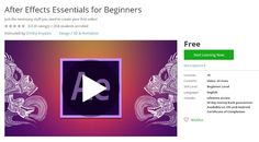 Coupon Udemy - After Effects Essentials for Beginners (Free) - Course Discounts & Free