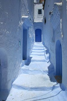 (Chefchaouen, Morocco)  #holiday