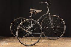 Vintage Child Tricycle (Black)