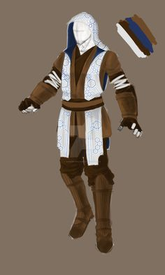 swtor jedi consular concept by KingDroenix on DeviantArt Cosplay Star Wars, Jedi Cosplay, Jedi Costume, Star Wars Costumes, Superhero Characters, Star Wars Characters, Star Wars Jedi, Star Wars Art, Trajes Star Wars