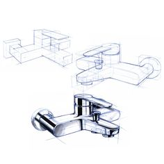 Industrial Design Sketching and Marker Rendering Works