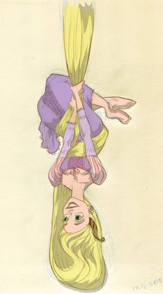 Disney's Rapunzel from Tangled, saw the film last night and sketched this after it. Story was pretty typical Disney but holy crap the animation was even. Disney Rapunzel, Walt Disney, Tangled Rapunzel, Disney Films, Rapunzel Tattoo, Rapunzel Story, Princess Rapunzel, Disney Princesses, Disney Fan Art