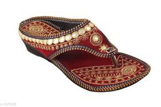 Flats Ethnic Velvet Women's Footwear  *Material* Velvet  *UK/IND Size* IND - 4, IND - 5, IND - 6, IND - 7, IND - 8, IND - 9  *Description* It Has 1 Pair Of Women's Footwear  *Work* Embroidery  *Sizes Available* IND-8, IND-9, IND-4, IND-5, IND-6, IND-7 *   Catalog Rating: ★4.1 (117)  Catalog Name: Femme Ethnic Velvet Women's Footwear Vol 2 CatalogID_130941 C75-SC1071 Code: 202-1070316-