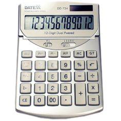 Paquete de 10 calculadoras 12 dígitos, metálica, impuesto, margen, disp ajust $2333mxn