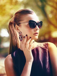 Elle Denmark September 2012  'Endless Light'  Model: Gertrud Hegelund  Photography: Asger Mortensen