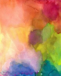Original Painting Abstract Watercolor Painting by soveryhappyart, $48.00