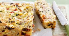 Serve this tasty Mediterranean Tuna Rice Bake straight from the oven for dinner, then wrap up any leftovers for a super-healthy lunch box filler. Salmon Recipes, Fish Recipes, Seafood Recipes, Tinned Tuna Recipes, Recipies, Savoury Recipes, Healthy Recipes, Ww Recipes, Healthy Cooking