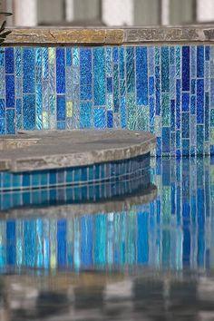#QualityFirst #HomeImprovement - http:www.qualityfirsthomeimprovementreviews.com  ------ Glass Pool Tile C | Lightstreams Custom | San Diego