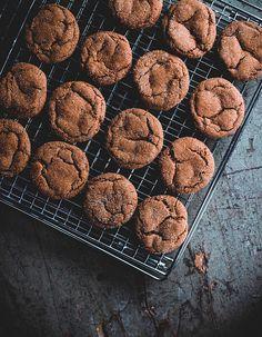 Smoky Cardamom Ginger-Molasses Cookies