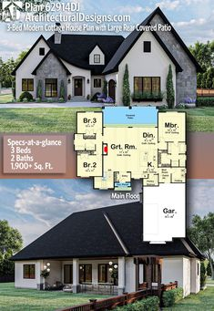 Sims House Plans, New House Plans, Dream House Plans, Modern House Plans, House Floor Plans, My Dream Home, Unique House Plans, Cottage House Plans, Cottage Homes