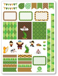 One 6 x 8 sheet of Alice in Wonderland decorating kit/weekly spread planner stickers cut and ready for use in your Erin Condren life planner, Filofax,