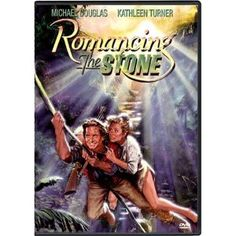 Romancing the Stone - I never get tired of the book or the movie. It brings out the Joan Wilder in me.