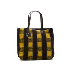 Kelsi Dagger Brooklyn Commuter Tote Handbags & Purses ($168) ❤ liked on Polyvore featuring bags, handbags, tote bags, plaid multi, plaid tote bag, tartan handbag, plaid tote, brown tote and brown tote bag