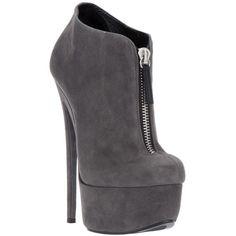 Giuseppe Zanotti Design platform ankle boot ❤ liked on Polyvore