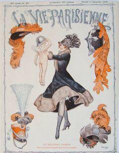 Chéri Hérouard (1881 – 1961). La Vie Parisienne, 11 Décembre 1915. [Pinned 31-vii-2015]