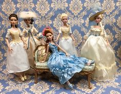 De Legrer family portraits. Deja vu collection. Robert Tonner Dolls.