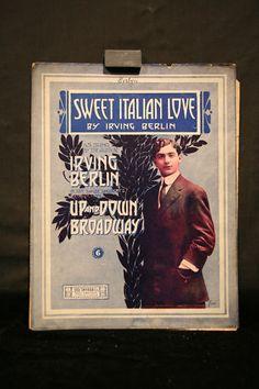 Sweet Italian Love Irving Berlin Vintage Sheet Music | eBay