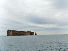Le roche Persé en Gaspésie au Canada