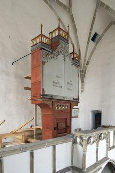 Pulgarn by Linz - nieuw gotisch orgel - Orgelmakerij Reil