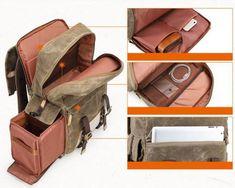 dslr camera backpack (6) Best Camera Backpack, Dslr Camera Bag, Stylish Camera Bags, Professional Camera, Rucksack Backpack, Waxed Canvas, Travel Bags, Backpacks, Leather