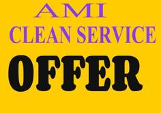 Offer Ami Clean Service