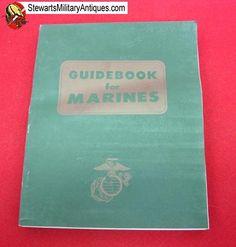 Stewart's Military Antiques - - US Vietnam War USMC Guidebook for Marines, July 1967 - $39.95