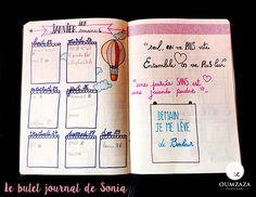 Nouvelle chronique !! La boîte à aider de Sonia : Le bujo, ou bullet journal  >>