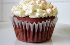Red velvet cupcakes - Mytaste.com