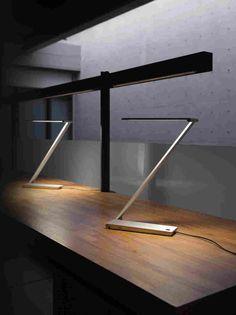 BE Light — светодиодная настольная лампа от QisDesign