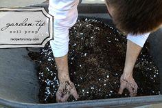 prepping your soil for food gardening by lesley zellers, via Flickr