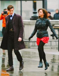 Clara and the Doctor, from the 50th Anniversary Episode.