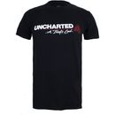 Geek Clothing Uncharted 4 Mens Logo T-Shirt - Black - S Crafted from soft cotton, this regular fit T-Shirt is officially licensed and finished with a stylised print on the front, a crew neck and short sleeves (Barcode EAN=5052777292855) http://www.MightGet.com/january-2017-11/geek-clothing-uncharted-4-mens-logo-t-shirt--black--s.asp