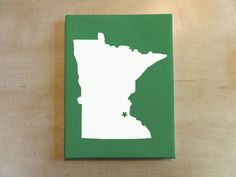 Custom Any State by HennepinStreetStudio on Etsy