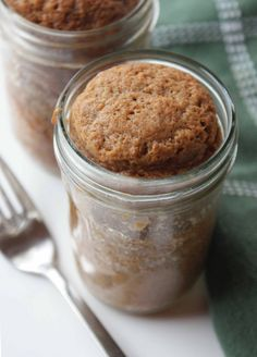 Carrot Cake in mason jar