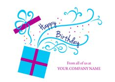 Get the party started with prancing presents a delightful bursting with wishes happy birthday wishes burst from the package on this front imprint business birthday happy birthday wishesbirthday cardscompany bookmarktalkfo Images