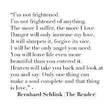 Bernhard Schlink ...The Reader