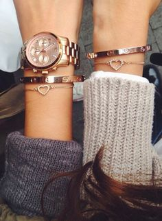 Love everything. Heart bracelets to share with my sisters? :-)