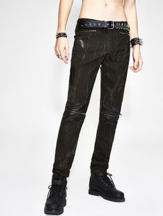 Punk Swag Hipster Street Wear Spike Studded Rivet Rock Gothic Grunge Emo Belt