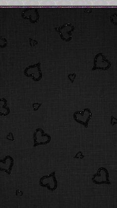 Glitter Black Girly Black Wallpaper Design For Phone