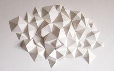 Geometric Polygonal Wall Sculpture 2 par FlipShop1 sur Etsy
