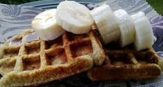 waffles, no oil, healthy, breakfast