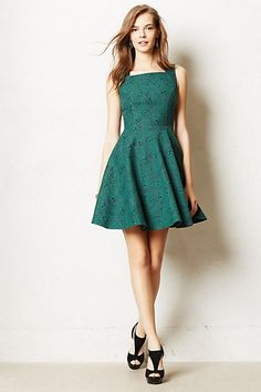 Andrassy Dress #anthropologie  This is strange. I don't usually like the stuff at Antherpologie...