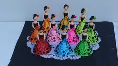 Paper Quilling Dolls by Sandy Inoka at Coroflot.com