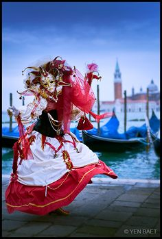 I would love to visit Venice Italy during the Carnival..and ride on a gondola!